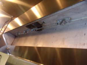 Office Cafeteria Vent Hood Cleaning in Westpark Tollway Area of Houston